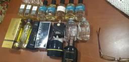 Diversos perfumes masculinos