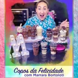 Aprenda a fazer os deliciosos Copos da Felicidade! Com menos de 40,00 reais, Aproveite!