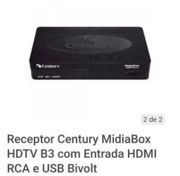 Mídia box receptor Centuty