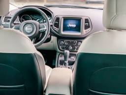 Jeep Compass Longitude Interior Branco GELO