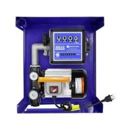 Kit bomba elétrica 230v para diesel 60l/min com medidor e mangueira