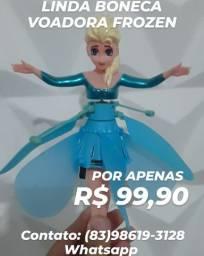 Boneca Voadora Frozen