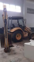 Retro escavadeira 4x4 locação 2009