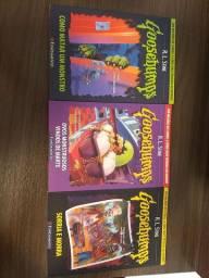 Vendo livros da coleção Goosebumps
