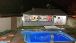 Carnaval casa temporada em Araruama piscina com hidro