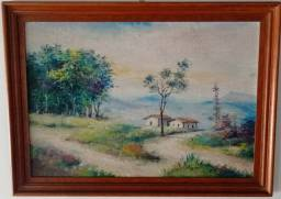 Título do anúncio: Quadro Valter Cardoso, 1979 0,59 x 0,42m
