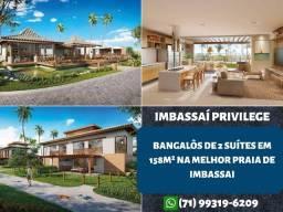 Título do anúncio: Imbassai Privilege, Bangalôs de 2 suítes em 158m² e 2 vagas de garagem - Espetacular