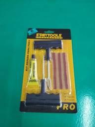 Título do anúncio: Kit de reparo para pneus startools ferramentas com 06 peças