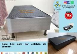 Título do anúncio: Base box para por colchão de casal, Queen size, King e de solteiro a partir de R$250