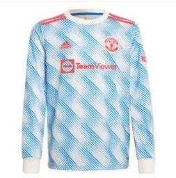 Título do anúncio: 3° Camisa Manchester United Manga Longa