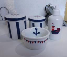 Kit de higiene de porcelana