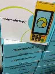 Maquineta maquininha de cartão com configuração e entrega imediata grátis