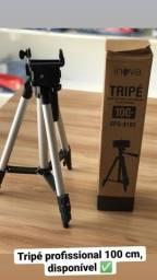 TRIPÉ PROFISSIONAL PARA FILMAR COM SMARTPHONE