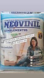 Liquida textura branco 20kg Neovinil na Cuiabá tintas.. imperdível