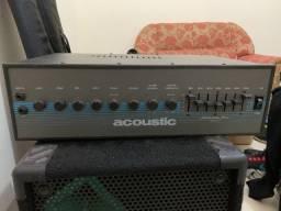 Título do anúncio: Amplificador/Cabeçote Acoustic 320 Watts RMS