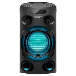 Mini System Sony Mhc-v02 Preto Com Bluetooth 120v/240v Usado