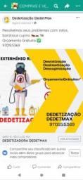 Título do anúncio: DEDETIZAÇÃO, controle de Pragas