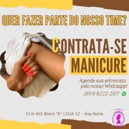 Título do anúncio: Vaga para manicure