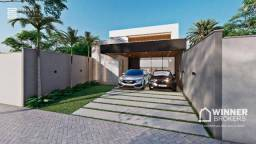 Casa com 3 dormitórios à venda, 122 m² por R$ 465.000,00 - Jardim Espanha - Maringá/PR