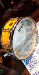 Caixa Gretsch Drums 14 X5,5 Snare New Classic -sn Maple Seminova