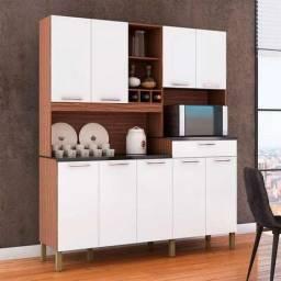 Título do anúncio: Cozinha Compacta Ronipa Merlot Prime 9 Portas