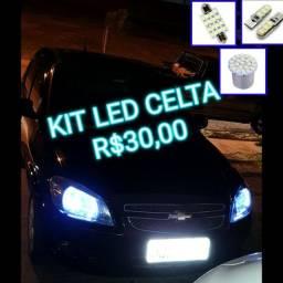 KIT LED CELTA PINGO+TORPEDO+1POLO
