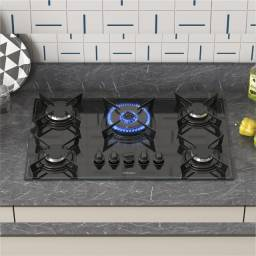Título do anúncio: Cooktop 5 bocas tripla chama super automático Itatiaia