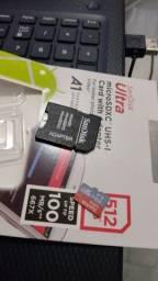 Título do anúncio: Cartão de memória 512 gigas