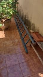 Título do anúncio: Escada de madeira maciça 9 degrau