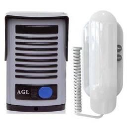 Porteiro Eletrônico AGL P10S / Maior segurança com acionamento de fechadura 12v