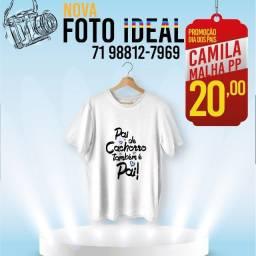 Camiseta Personalizada Com sua arte estampa promoção