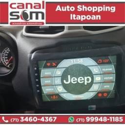 Título do anúncio: Central Multimídia Android Jeep Renegade 9 Pol Car Navigation instalada na Canal Som