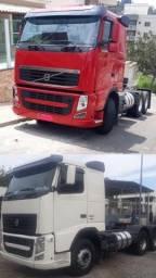 Título do anúncio: Volvo Vermelho FH440 6x2 Ano:2010 / Volvo Branco FH520 6x4 Ano:2011