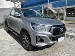 Título do anúncio: Toyota Hilux SRV 4x4 Flex - Automática com apenas 33.700 km