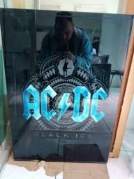 Título do anúncio: Quadros ACDC -IRON MAIDEN