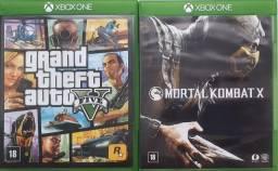 10 Jogos Xbox One 360 Forza Destiny Sf4 Gta5 Mkx Halo Elder Scrolls
