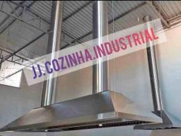 Coifas aço inox/galvanizada somos fabricantes