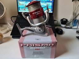 Molinete Prisma 6000 com 300mtrs de Multifilamento 0.19mm 8x