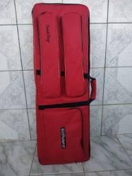 Bag capa teclados 5/8 acolchoado