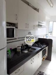 Título do anúncio: Apartamento com 3 dormitórios à venda, 67 m² por R$ 340.000,00 - Vila Mogilar - Mogi das C