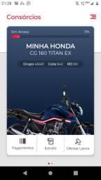 Consórcio Honda urgente