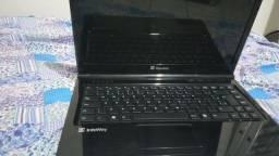 Notebook Itautec Infoway para uso ou retirada de peças