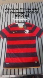Vendo camisa do flamengo retrô 2008-09