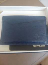 Título do anúncio: Porta cartão mont Blanc $ 300 reais
