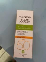 Título do anúncio: Protetor solar facial