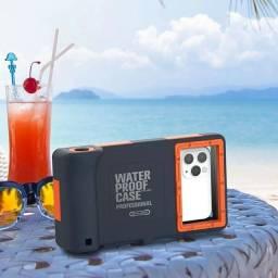 Título do anúncio: Capa Para Telefone à Prova D'água Subaquática