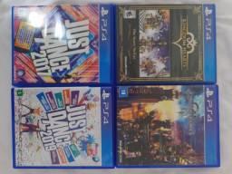 Jogos seminovos PS4