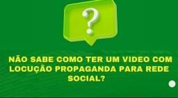 Título do anúncio: VIDEO PROPAGANDA COM (LOCUÇÃO) PARA REDE SOCIAIS