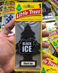 Aromatizante Importado Little Trees Black Ice