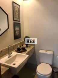 Título do anúncio: Apartamento com 3 dormitórios para alugar, 107 m² por R$ 3.200/mês - Residencial Interlago